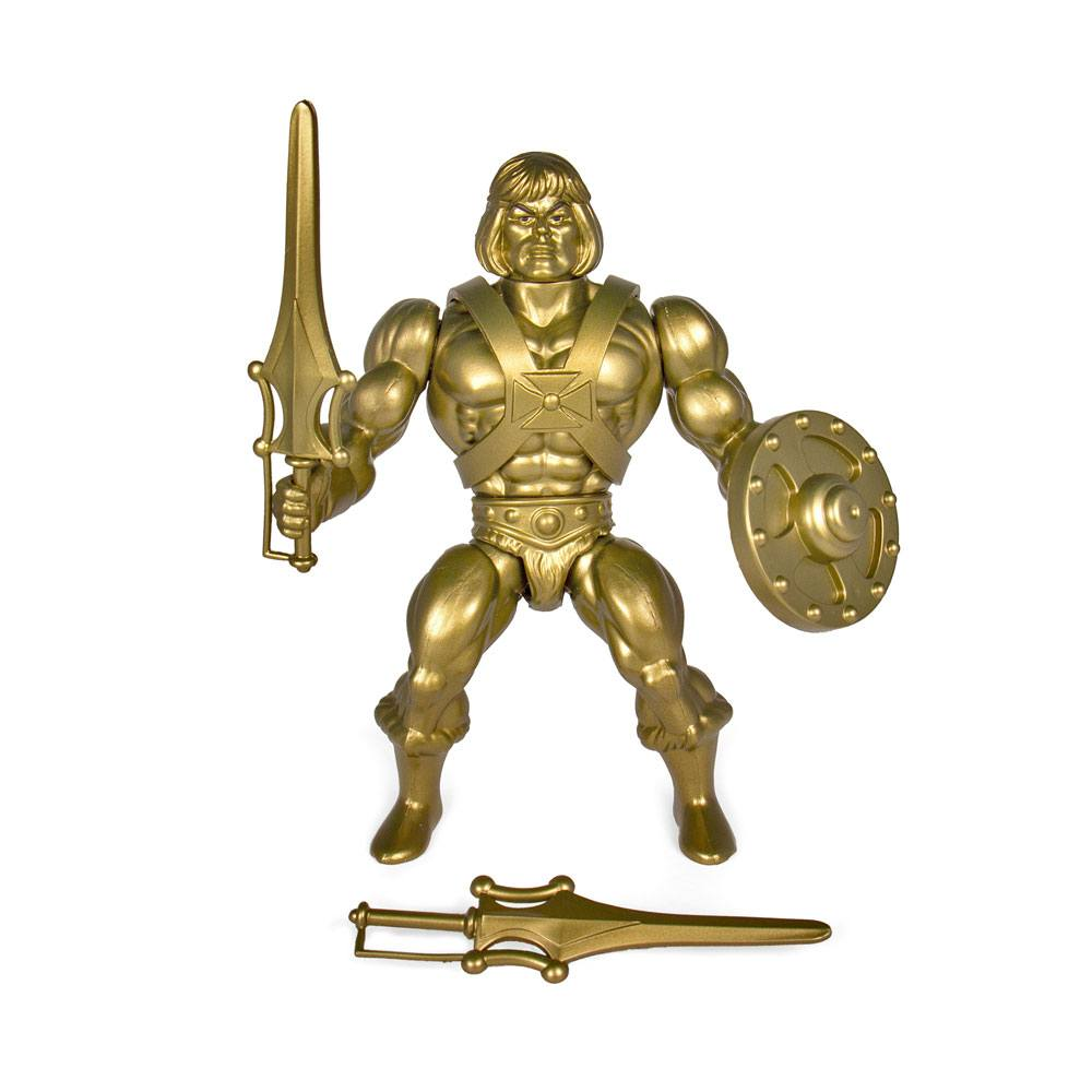 Photo du produit MASTERS OF THE UNIVERSE SÉRIE 3 FIGURINE VINTAGE COLLECTION GOLD HE-MAN 14 CM