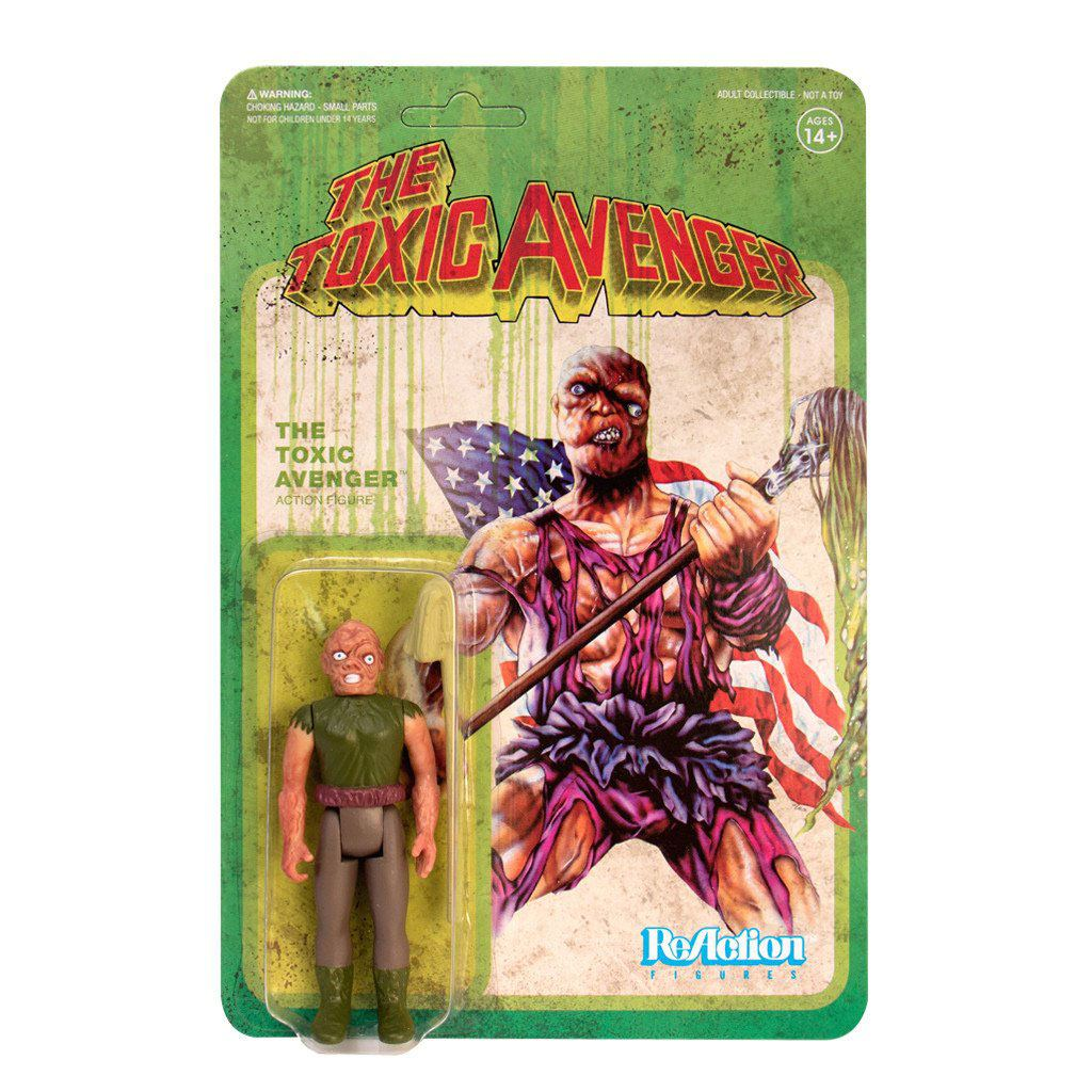 Photo du produit TOXIC AVENGER FIGURINE REACTION AUTHENTIC MOVIE VARIANT 10 CM