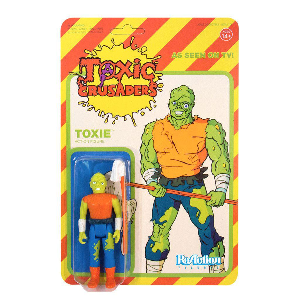 Photo du produit TOXIC AVENGER FIGURINE REACTION TOXIC CRUSADER VARIANT 10 CM