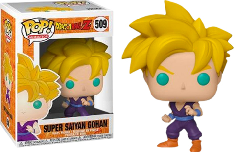 Photo du produit FIGURINE FUNKO POP DBZ SUPER SAIYAN GOHAN EXCLUSIVE