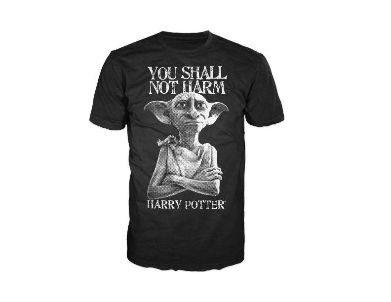 Photo du produit HARRY POTTER T-SHIRT YOU SHALL NOT HARM