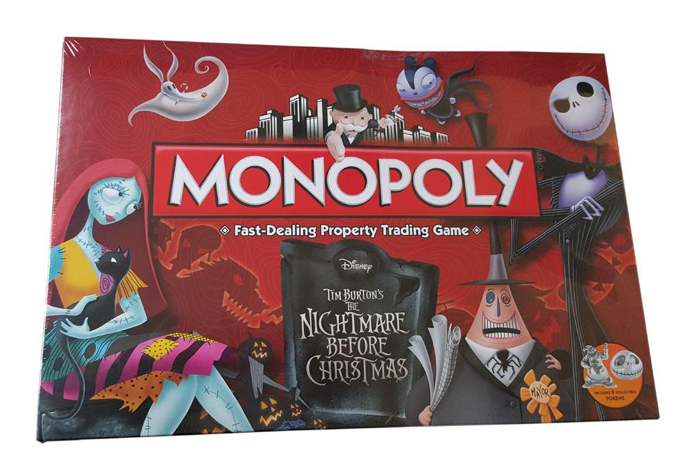 Photo du produit MONOPOLY L'ETRANGE NOEL DE MONSIEUR JACK *ANGLAIS*