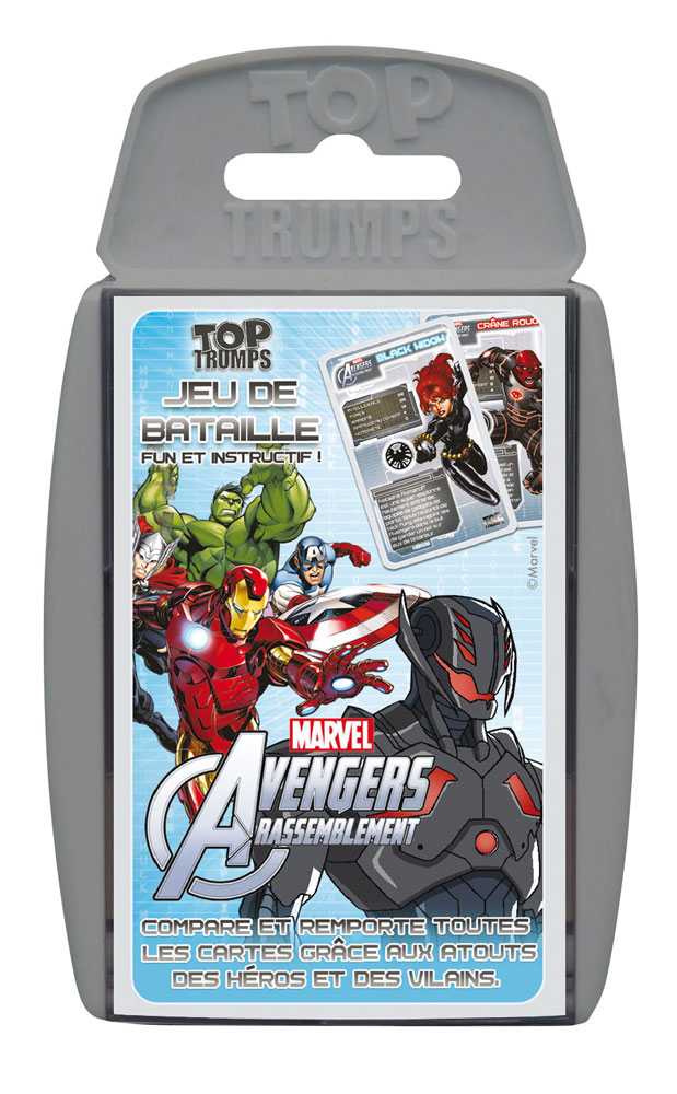 Photo du produit JEU DE CARTES TOP TRUMPS THE AVENGERS (VERSION FRANCAISE)