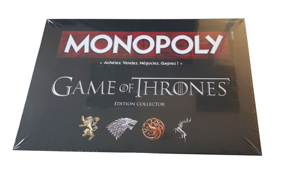 Photo du produit GAME OF THRONES MONOPOLY EDITION FRANCAISE
