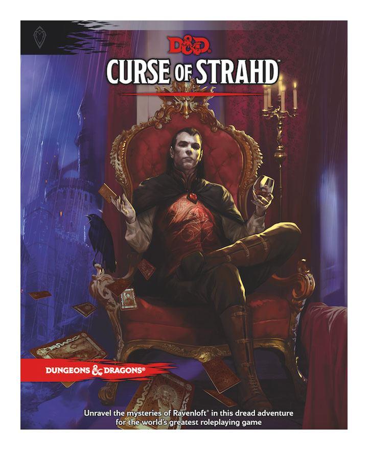 Photo du produit LIVRE DUNGEONS & DRAGONS RPG ADVENTURE CURSE OF STRAHD (VERSION ANGLAISE)