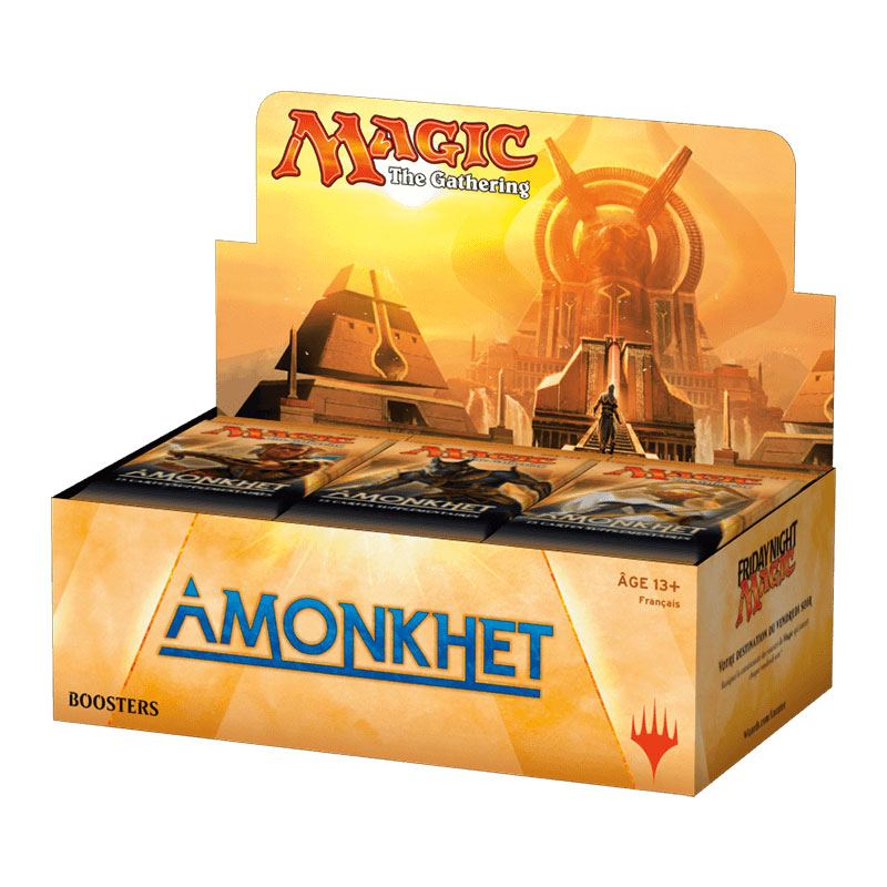 Photo du produit PACK 36 BOOSTERS MAGIC THE GATHERING AMONKHET + PRESENTOIR