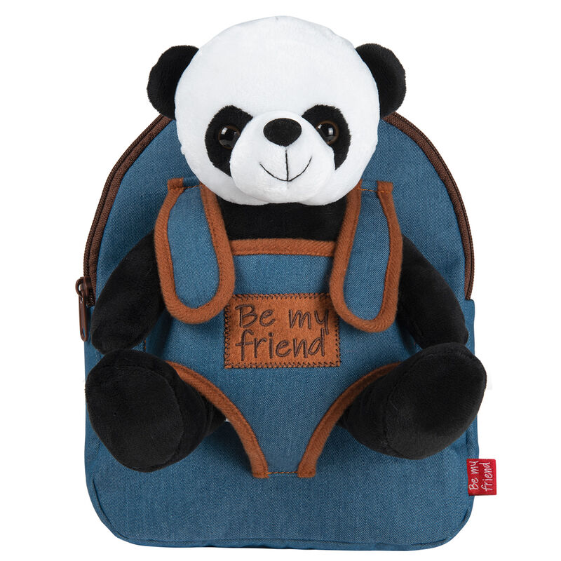 Photo du produit SAC À DOS PAUL PANDA ET SA PELUCHE 27 CM