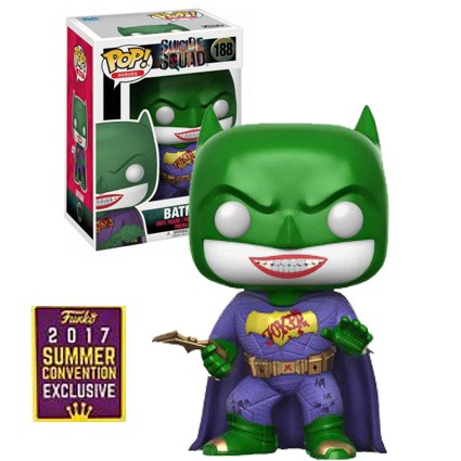 Photo du produit FIGURINE FUNKO POP SDCC DC SUICIDE SQUAD BATMAN JOKER EDITION LIMITEE EXCLUSIVE