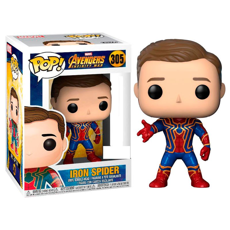 Photo du produit FUNKO POP MARVEL AVENGERS INFINITY IRON SPIDER EXCLUSIVE