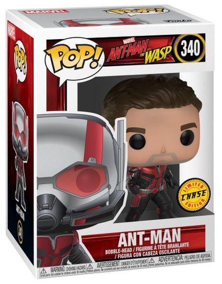 Photo du produit FIGURINE FUNKO POP ANT MAN CHASE EXCLUSIVE (Boîte très légèrement endommagée