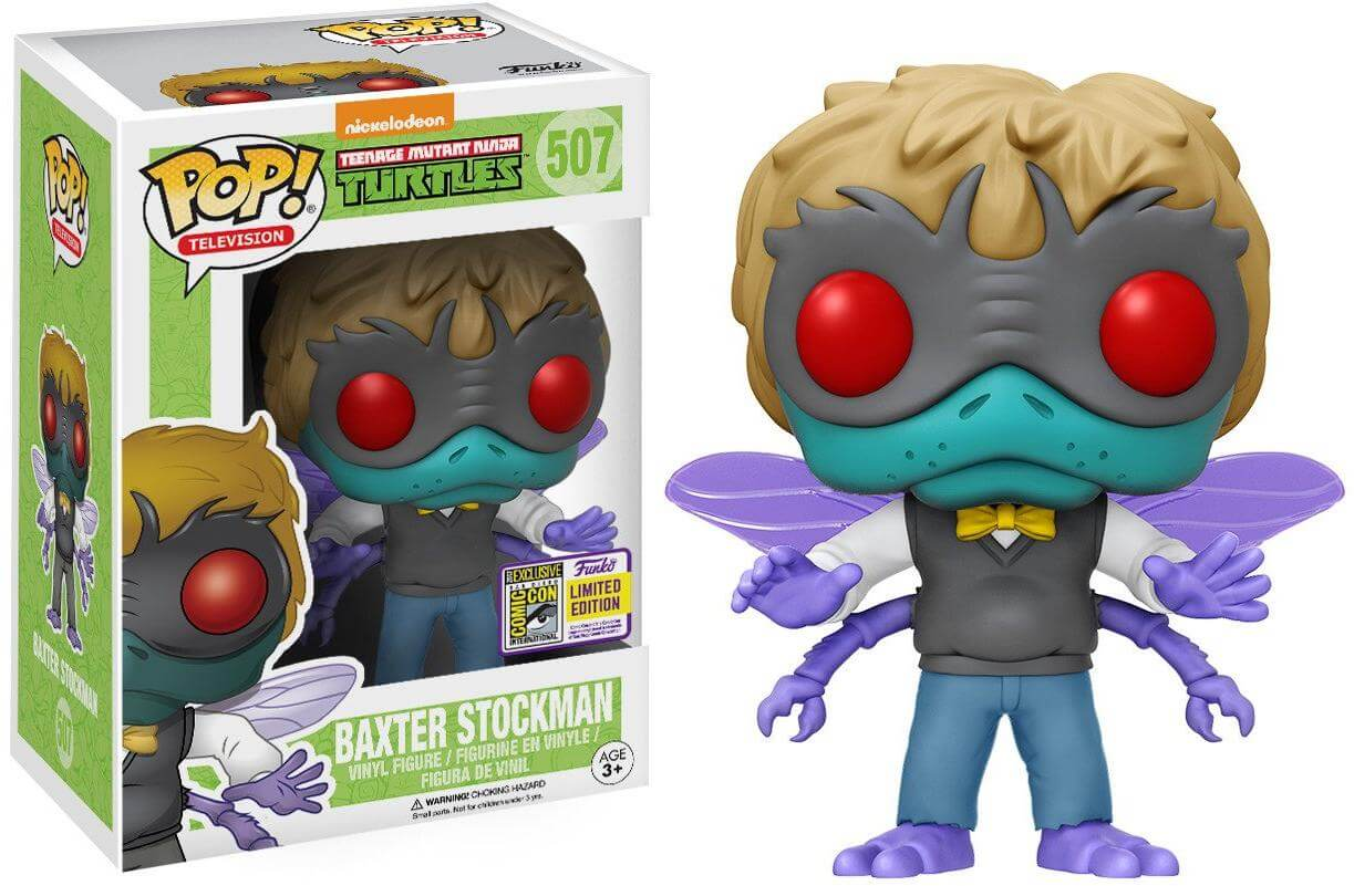 Photo du produit SDCC 2017 FUNKO BAXTER STOCKMAN EXCLUSIVE - EMBALLAGE ENDOMMAGE