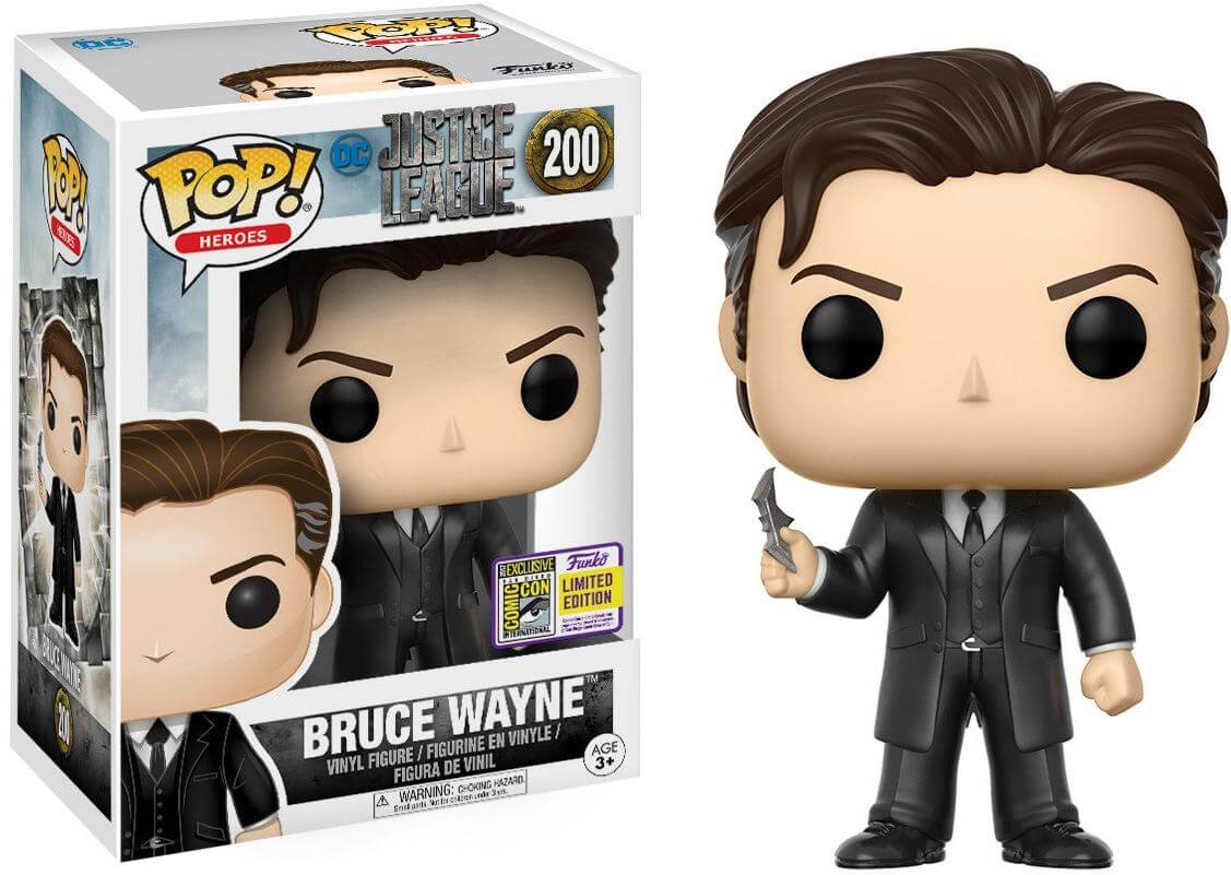 Photo du produit FUNKO POP BRUCE WAYNE SDCC 2017