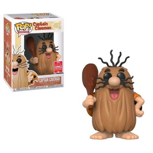 Photo du produit FUNKO POP CAPITAINE CAVERNE (CAPTAIN CAVEMAN) SDCC 2018 EXCLUSIVE