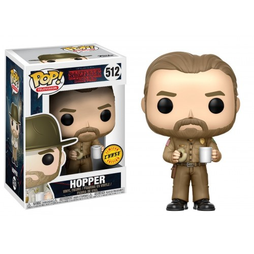 Photo du produit STRANGER THINGS FUNKO POP HOPPER VERSION EXCLUSIVE CHASE