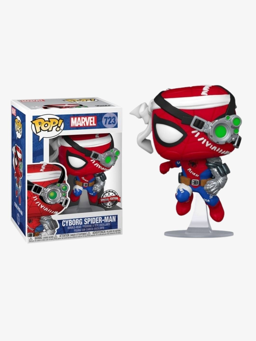 Photo du produit FUNKO POP CYBORG SPIDER-MAN SPECIAL EDITION