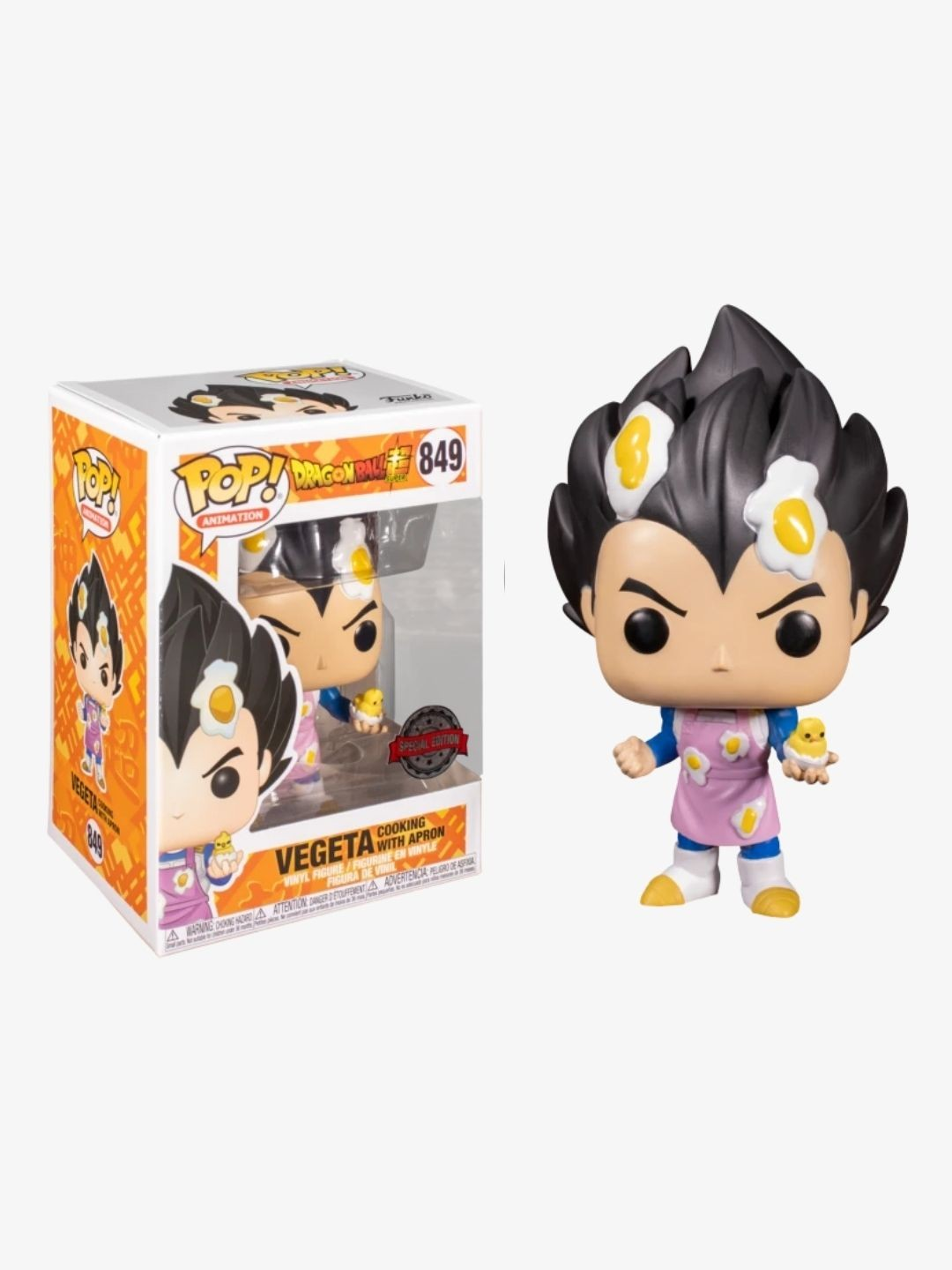Photo du produit FUNKO POP DBZ VEGETA SPECIAL EDITION