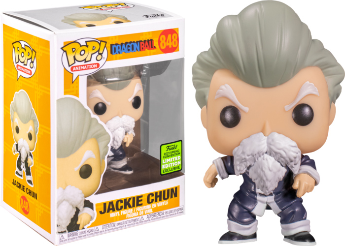 Photo du produit FUNKO POP DRAGON BALL JACKIE CHUN POP FIGURE 2021 SPRING CONVENTION EXCLUSIVE
