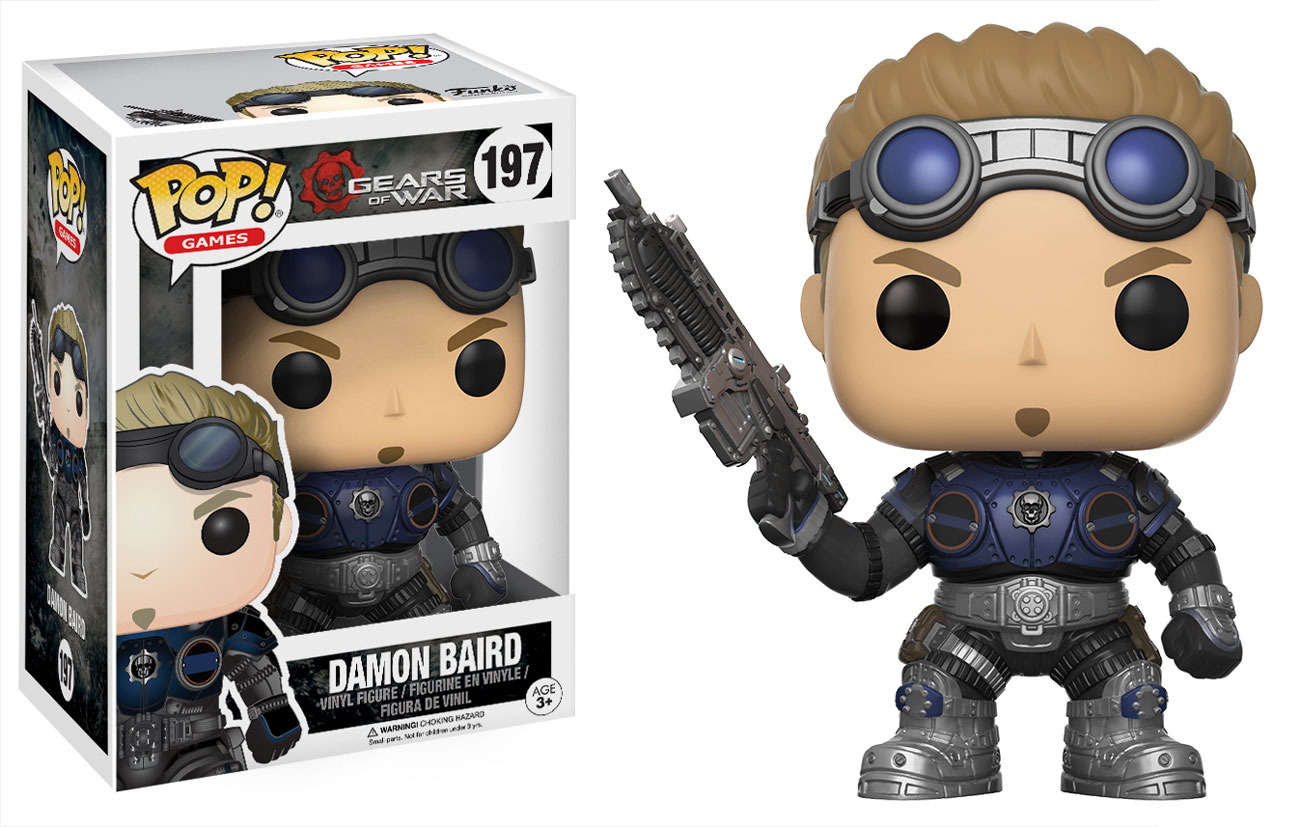 Photo du produit GEARS OF WAR FUNKO POP DAMON BAIRD