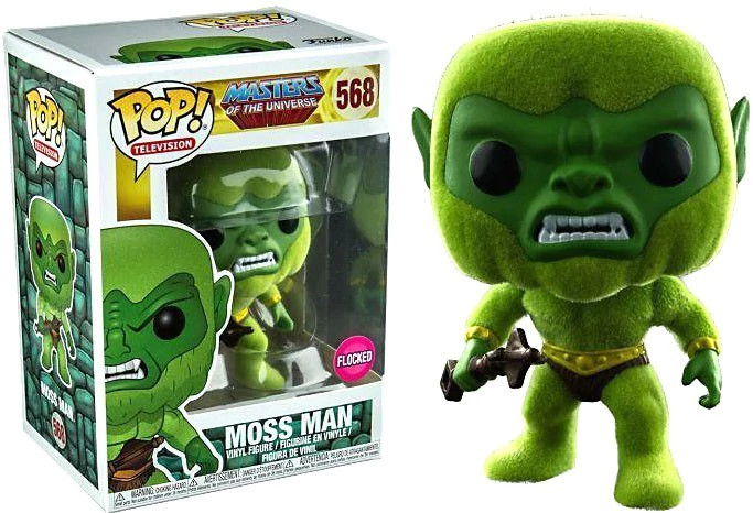 Photo du produit FUNKO POP MASTERS OF THE UNIVERSE MOSS MAN VERSION FLOCKED EXCLUSIVE
