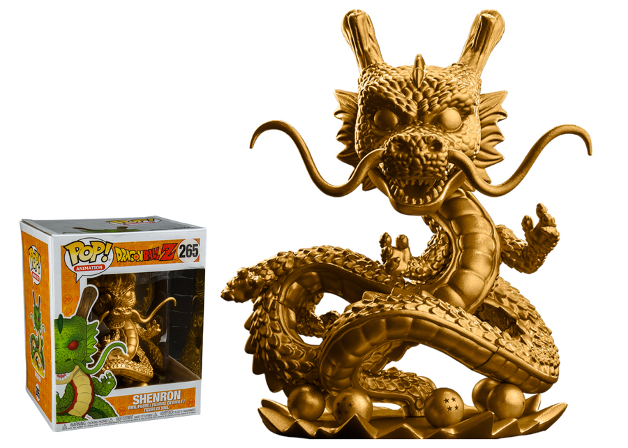 Photo du produit FUNKO POP DBZ SHENRON GOLD EXCLUSIVE