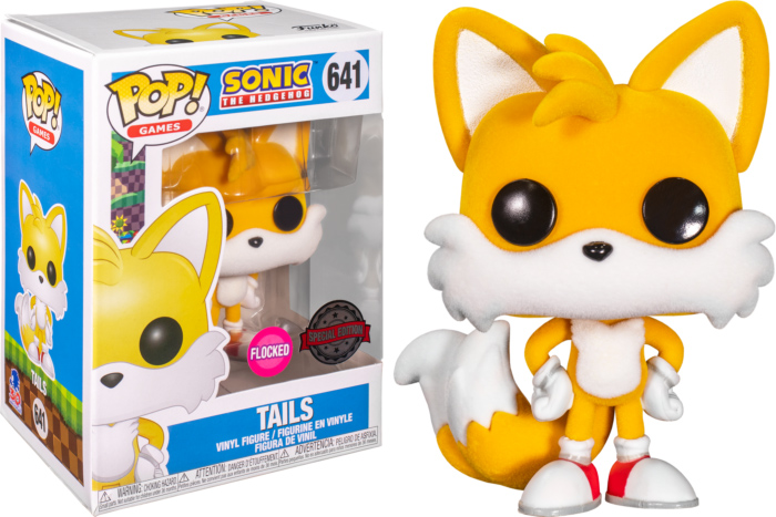 Photo du produit FUNKO POP SONIC THE HEDGEHOG TAILS FLOCKED EXCLUSIVE