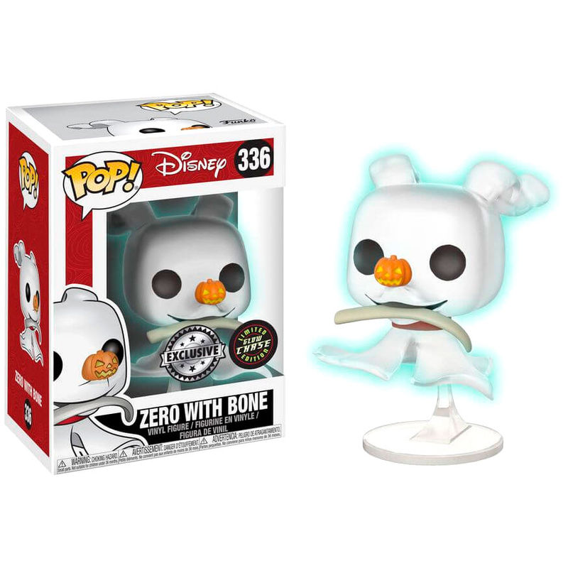 Photo du produit FUNKO POP NBX ZERO WITH BONE VERSION CHASE GLOW IN THE DARK