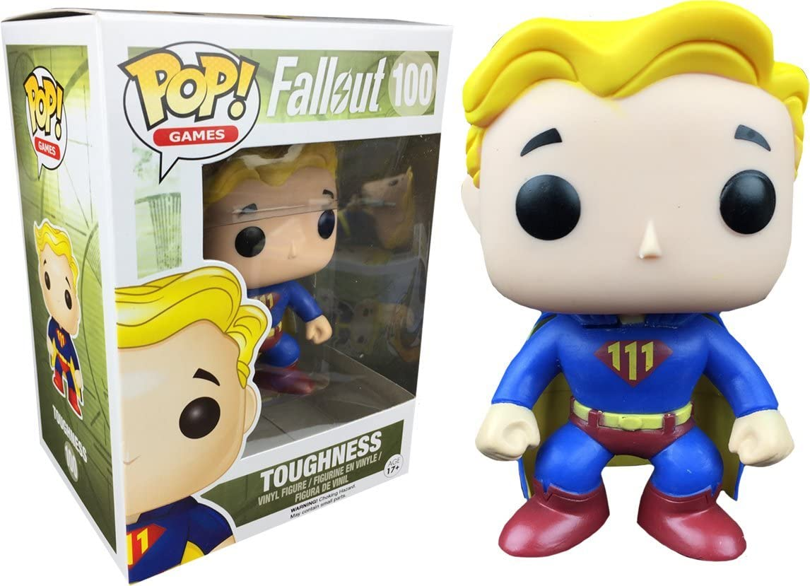 Photo du produit FUNKO POP FALLOUT VAULT BOY TOUGHNESS EXCLUSIVE