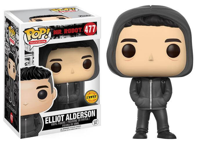 Photo du produit MR ROBOT FUNKO POP ELLIOT ALDERSON VERSION CHASE EXCLUSIVE