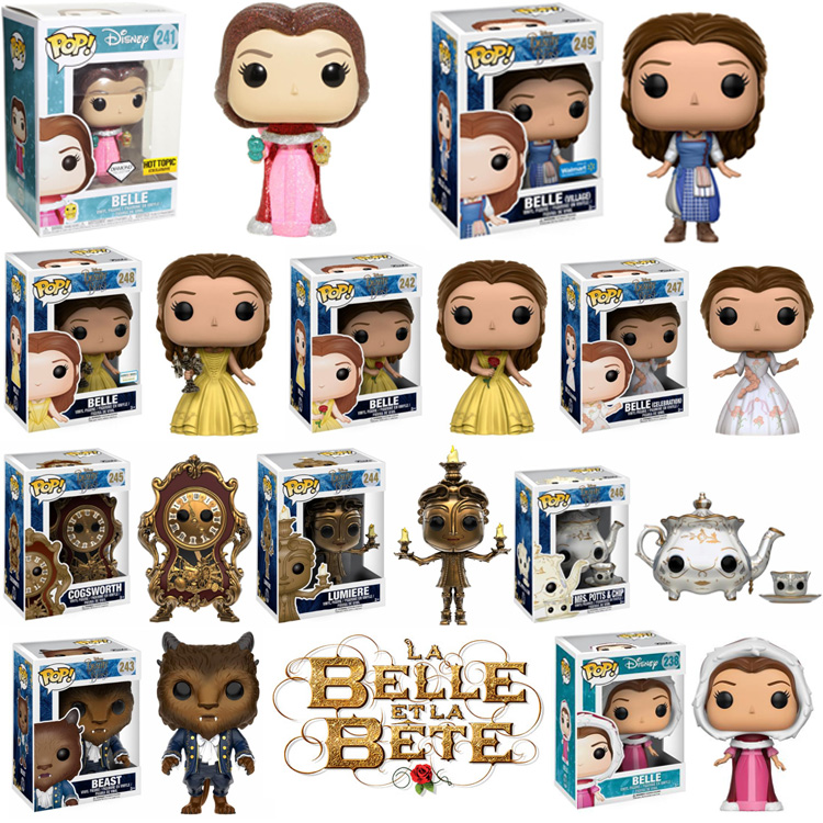 Photo du produit PACK 10 FUNKO POP LA BELLE ET LA BETE