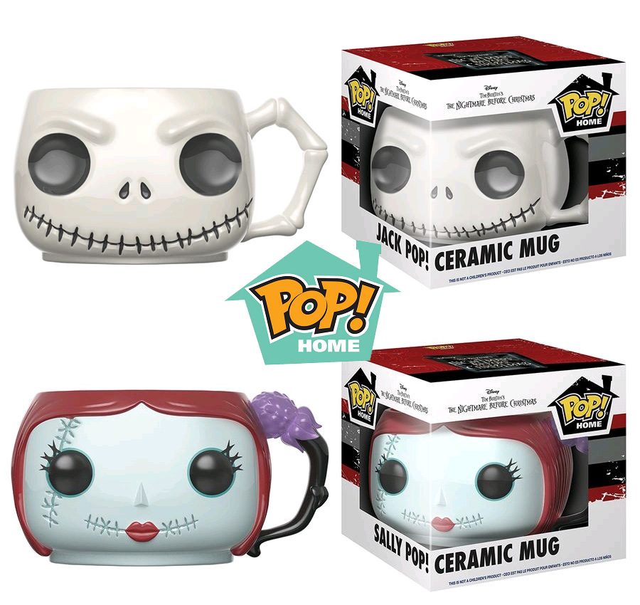 Photo du produit DISNEY LOT DE 2 MUGS FUNKO POP! HOME JACK ET SALLY