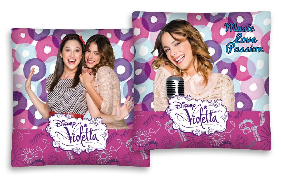 Photo du produit Housse de coussin Disney Violetta