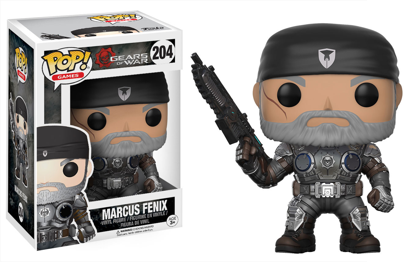Photo du produit GEARS OF WAR FUNKO POP MARCUS FENIX (OLD MAN)