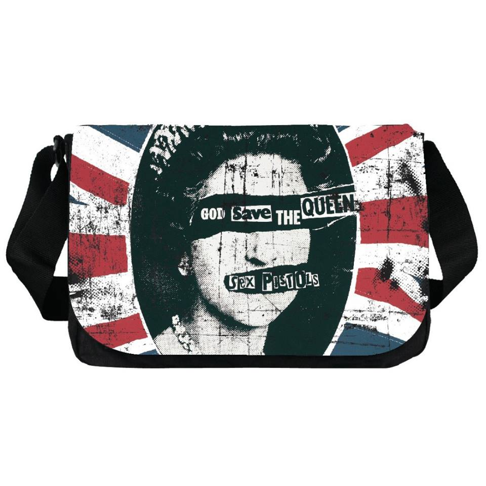 Photo du produit Sac bandoulière GOD SAVE THE QUEEN des Sex Pistols