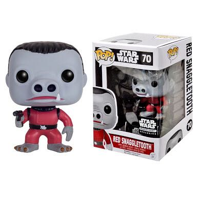 Photo du produit STAR WARS FUNKO POP SNAGGLETOOTH RED VERSION