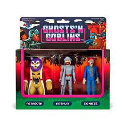 GHOSTS 'N GOBLINS PACK 3 FIGURINES REACTION PACK A 10 CM