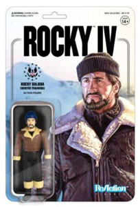 ROCKY 4 FIGURINE REACTION ROCKY (WINTER TRAINING) 10 CM