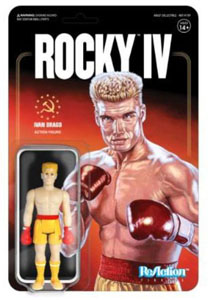 SUPER7 ROCKY 4 FIGURINE REACTION IVAN DRAGO 10 CM