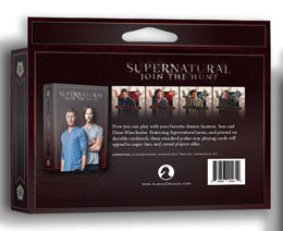 Photo du produit SUPERNATURAL JEU DE CARTES A JOUER Photo 1