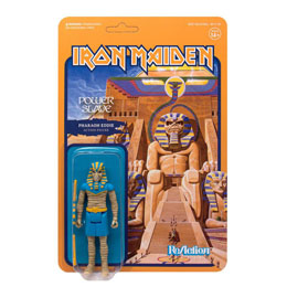 FIGURINE REACTION IRON MAIDEN POWERSLAVE (PHARAOH EDDIE)