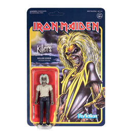 FIGURINE REACTION IRON MAIDEN KILLERS (KILLER EDDIE)