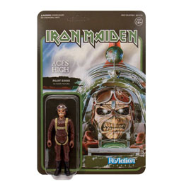 FIGURINE REACTION IRON MAIDEN ACES HIGH (PILOT EDDIE)