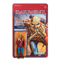 FIGURINE REACTION IRON MAIDEN THE TROOPER (SOLDIER EDDIE)