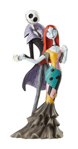 DISNEY SHOWCASE COLLECTION STATUETTE JACK AND SALLY DELUXE (L'ÉTRANGE NOËL DE MONSIEUR JACK)