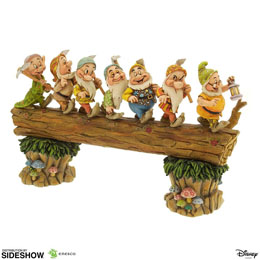 DISNEY SHOWCASE COLLECTION STATUETTE SEVEN DWARFS MASTERPIECE (BLANCHE NEIGE) 30 CM