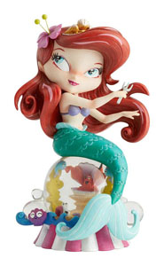 THE WORLD OF MISS MINDY PRESENTS DISNEY STATUETTE ARIEL (LA PETITE SIRÈNE) 24 CM