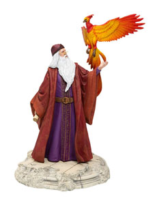 HARRY POTTER STATUETTE DUMBLEDORE WITH FAWKES 30 CM