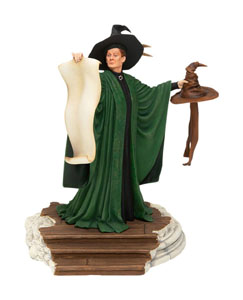HARRY POTTER STATUETTE PROFESSOR MCGONAGALL WITH SORTING HAT 25 CM