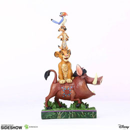 DISNEY STATUETTE STACKED CHARACTERS BY JIM SHORE (LE ROI LION) 20 CM