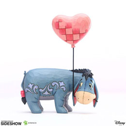 "DISNEY STATUETTE EEYORE WITH A HEART BALLOON (WINNIE L""OURSON) 20 CM"