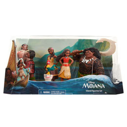 COFFRET 5 FIGURINES DISNEY VAIANA